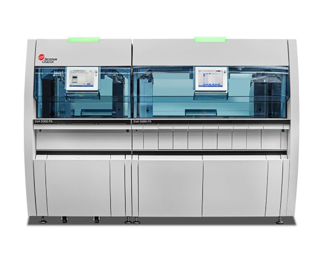 Image: DxA 5000 Fit Workflow Automation System (Photo courtesy of Beckman Coulter)