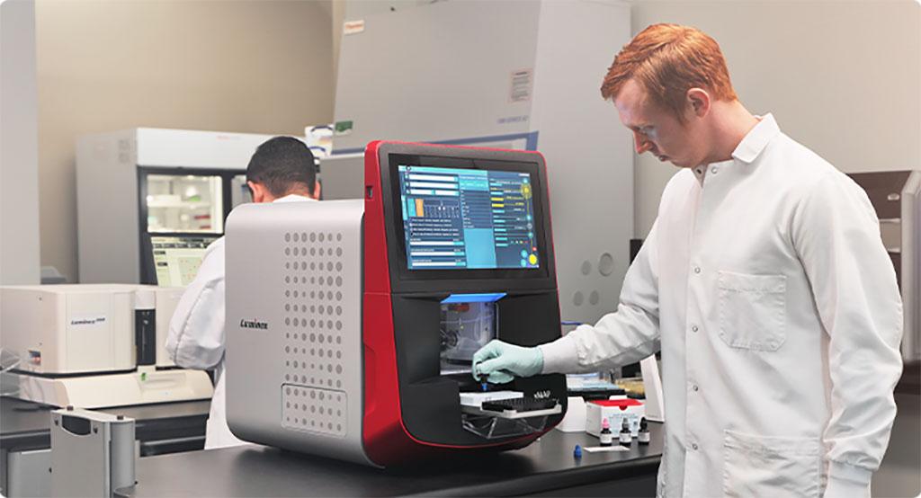 Image: Luminex Introduces xMAP INTELLIFLEX Flow-Based Multiplex Platform at AACC Clinical Lab Expo (Photo courtesy of Luminex Corporation)