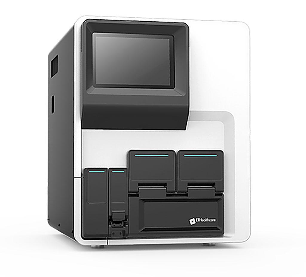 Image: The Pylon 3D Fully Automated Immunoassay System (Photo courtesy of ET Healthcare)