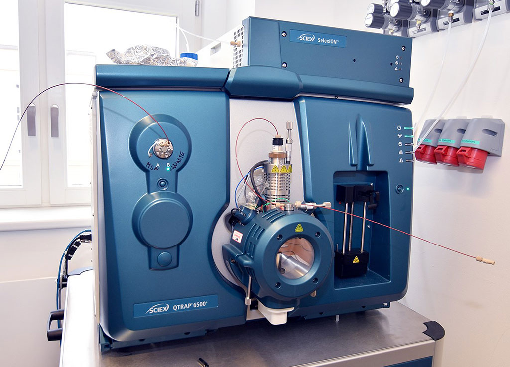 Image: The SCIEX QTRAP 6500+ system combines triple quadrupole mass spectrometry with linear ion trap (LIT) (Photo courtesy of Institute of Organic Chemistry and Biochemistry of the Czech Academy of Sciences)