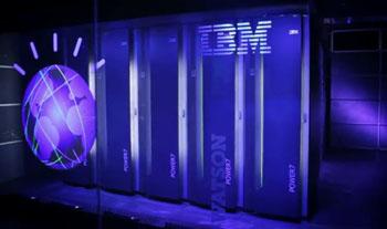 Image: The IBM Watson supercomputer (Photo courtesy of IBM).