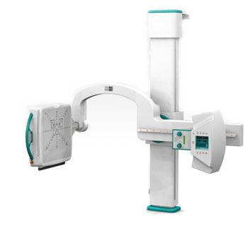 Image: The DR U-Arm system (Photo courtesy of Konica Minolta Medical Imaging).