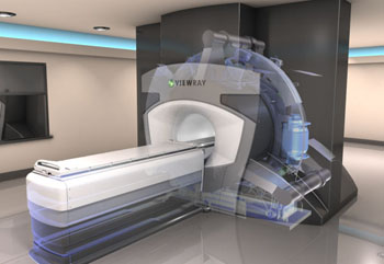 Image: The MRIdian is intended for imaging and treating cancer patients in real-time (Photo courtesy of ViewRay).
