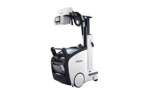 Image: The GM85 mobile digital radiography system (Photo courtesy of Samsung).