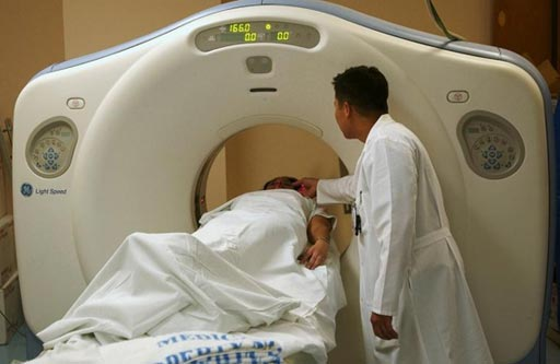 Image: New research asserts that CT scans can help detect blunt injury in trauma patients (Photo courtesy of GE Healthcare).