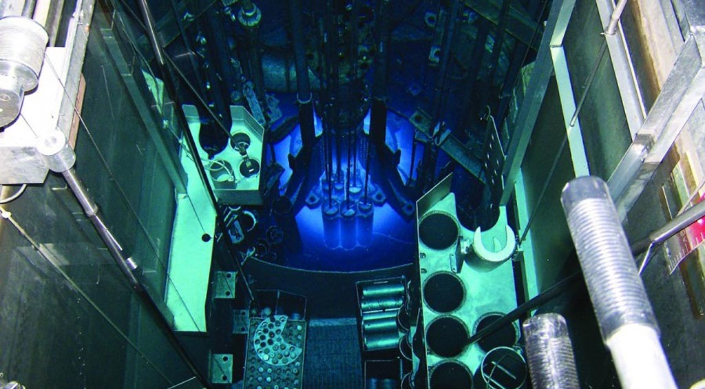 Image: The University of Missouri Research Reactor (Photo courtesy of MURR).