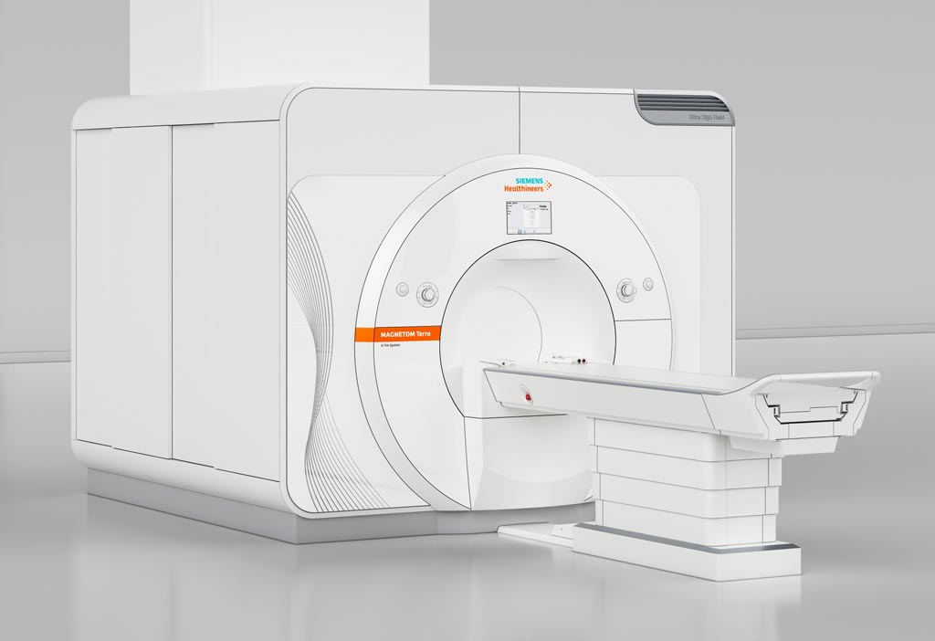 Image: The new 7T Magnetom Terra MRI scanner is the first ultra-high-field MR scanner that has been approved for clinical use (Photo courtesy of Siemens Healthineers).