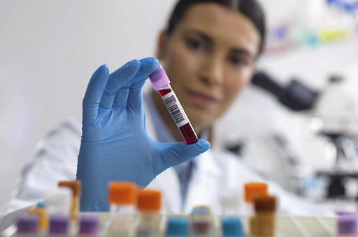Image: New research shows a simple blood test could establish how sensitive a person is to radiation (Photo courtesy of Getty Images).
