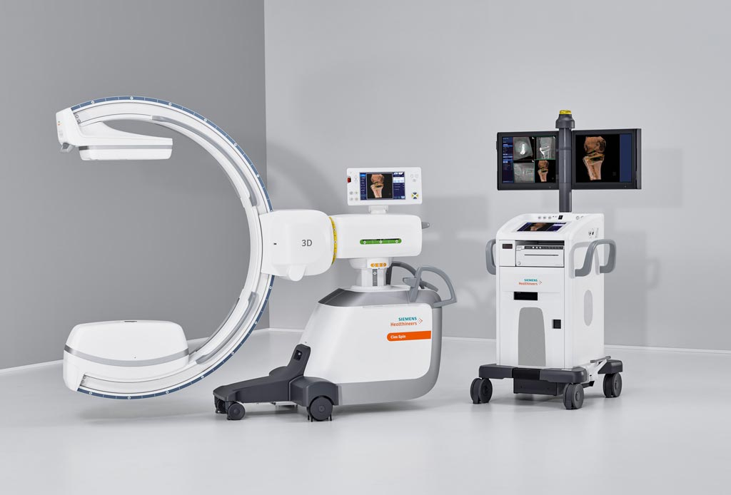 Image: The Cios Spin mobile flat detector C-arm (Photo courtesy of Siemens Healthineers).