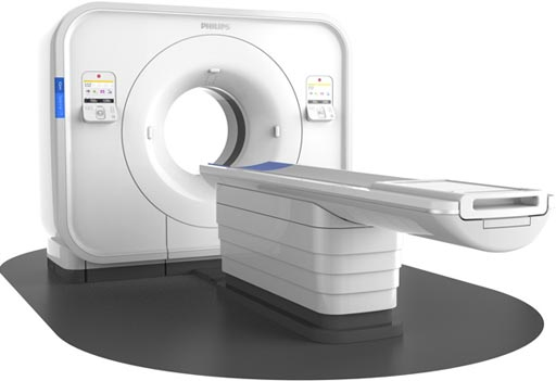 Image: The IQon Spectral CT (Photo courtesy of Philips Healthcare).