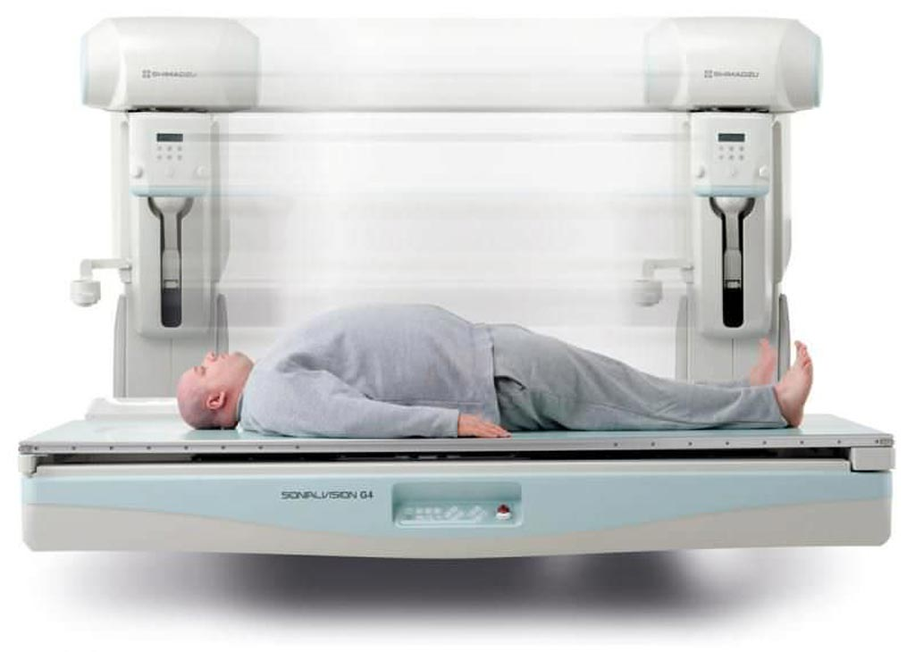 Image: The Sonialvision G4 R/F system (Photo courtesy of Shimadzu).