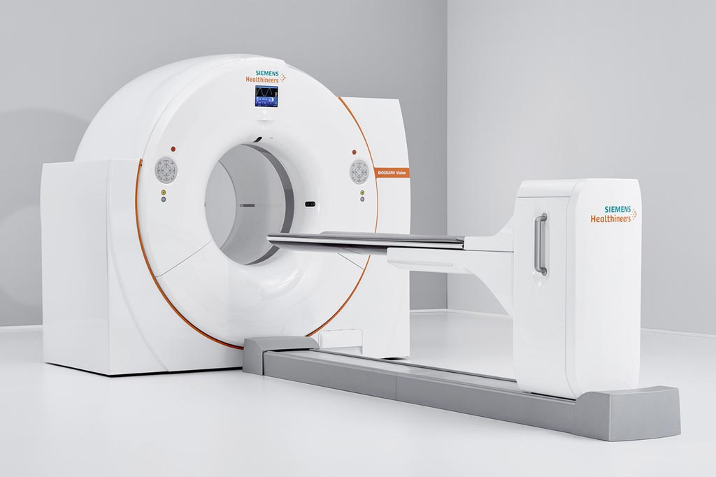 Image: The Biograph Vision PET/CT (Photo courtesy of Siemens Healthineers).
