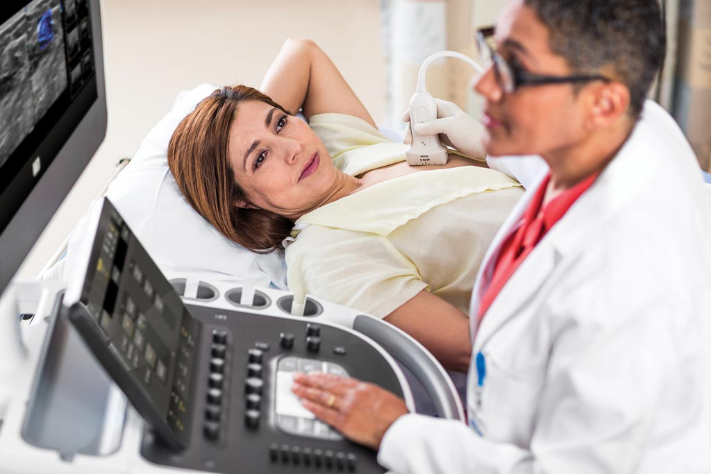 Image: A new ultrasound solution for breast assessment combines high-quality imaging with complementary clinical tools (Photo courtesy of Philips Healthcare).