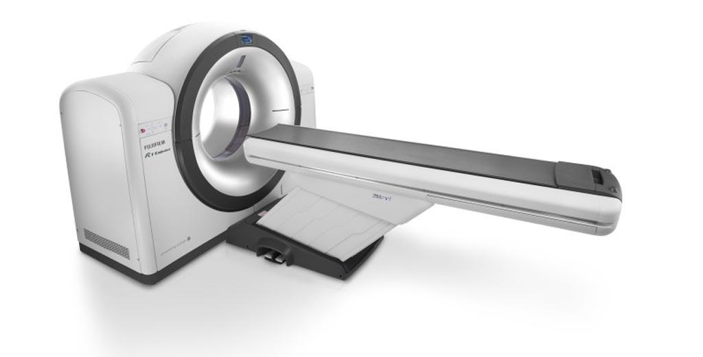Image: An 85cm wide bore facilitates CT imaging and nuclear medicine (Photo courtesy of Fujifilm).
