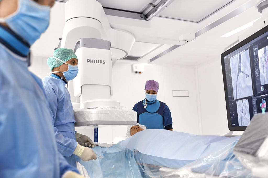 Image: A novel positioning system aids image-guided therapy (Photo courtesy of Philips Healthcare).