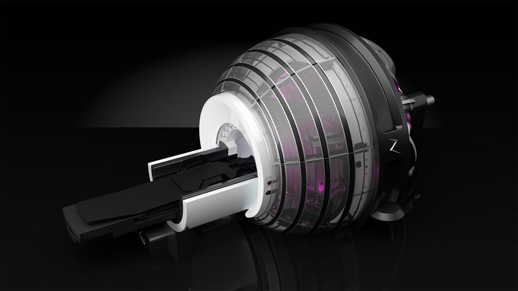 Image: The ZAP-X gyroscopic radiosurgery platform (Photo courtesy of ZAP Surgical Systems).