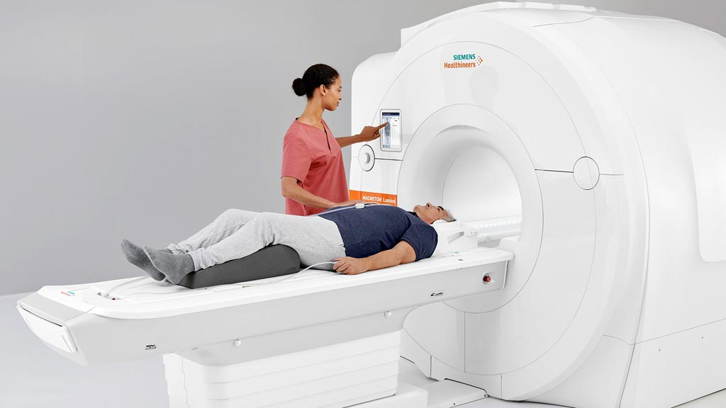 Image: The new Magnetom Lumina 3T MRI System (Photo courtesy of Siemens Healthineers).