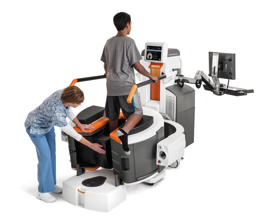 Image: The OnSight 3D Extremity system (Photo courtesy of Carestream Health).