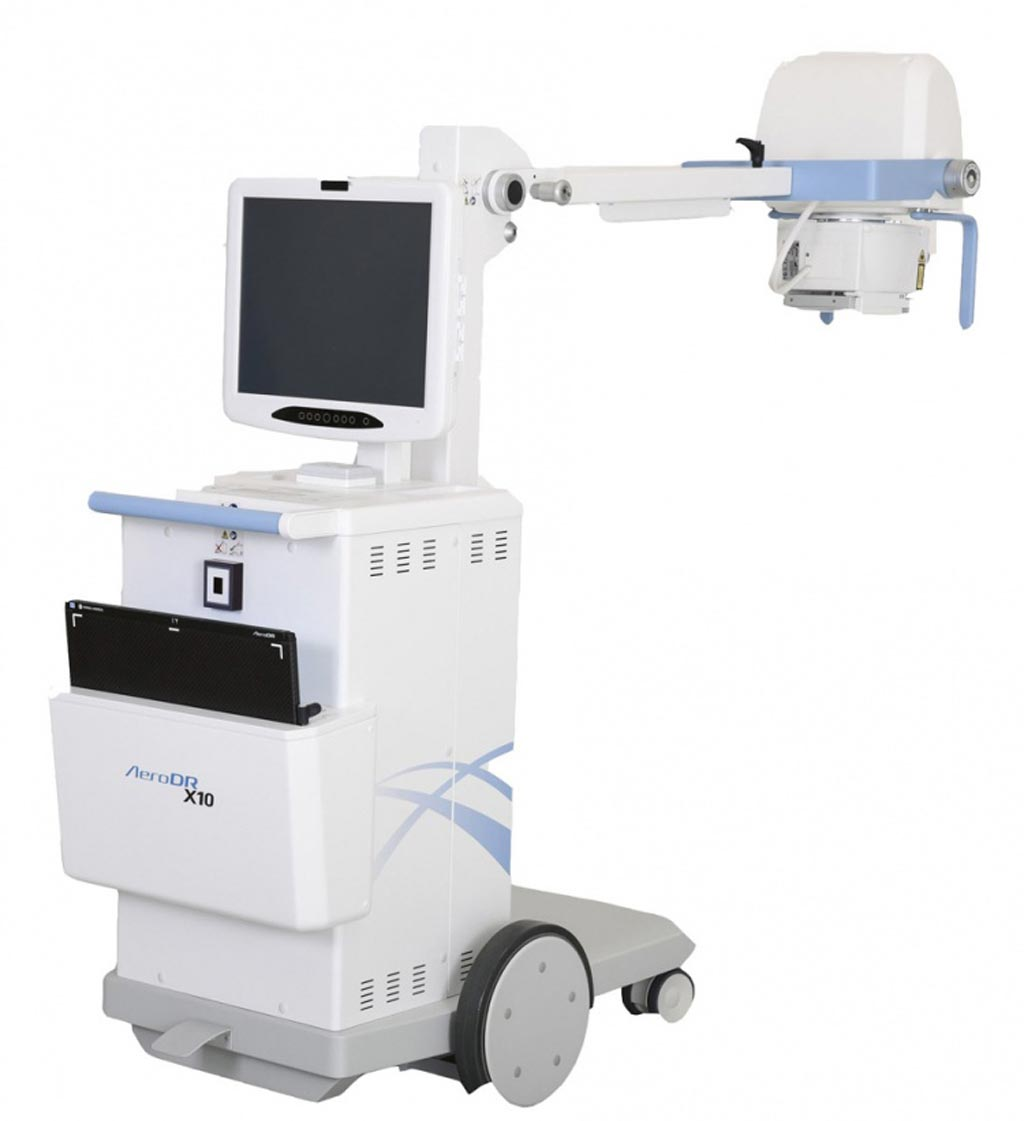 Image: The AeroDR X10 mobile x-ray system (Photo courtesy of Konica Minolta).