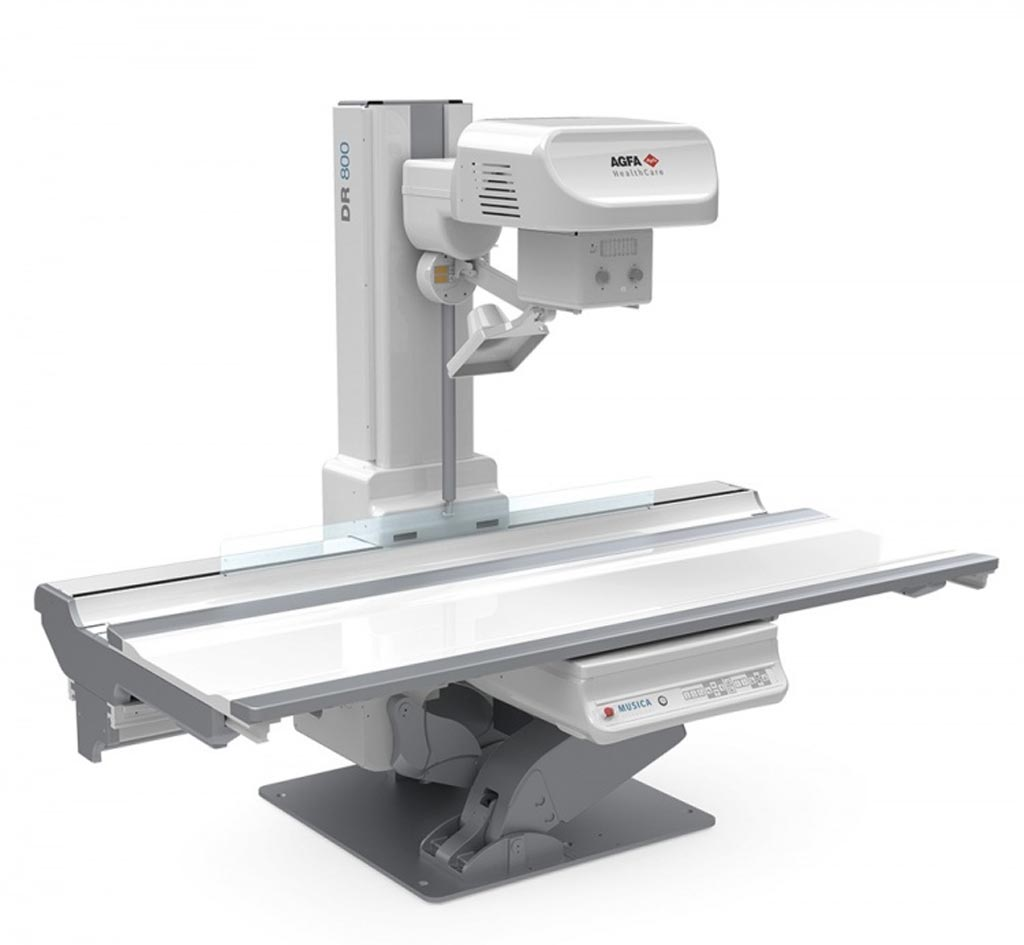Image: The DR 800 direct radiography solution (Photo courtesy of Agfa Healthcare).