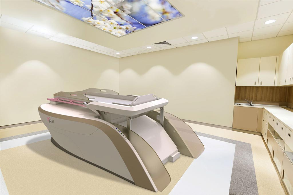Image: The GammaPod stereotactic radiotherapy system (Photo courtesy of Xcision Medical Systems).