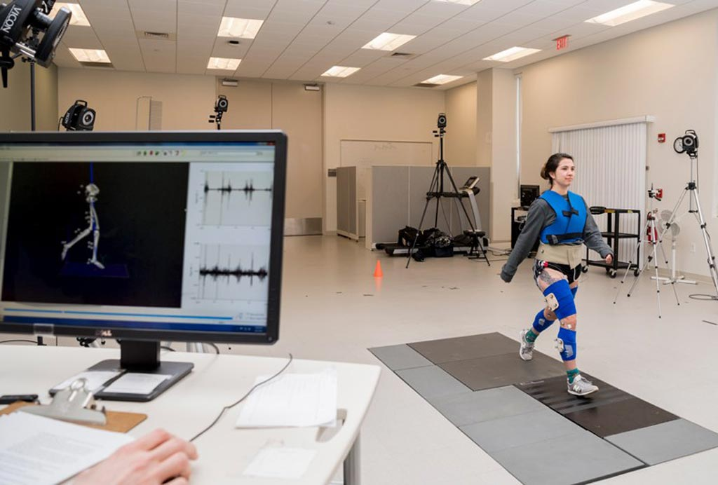 Image: MRI can be used to analyze gait motion (Photo courtesy of UDEL Delaware Rehabilitation Institute).