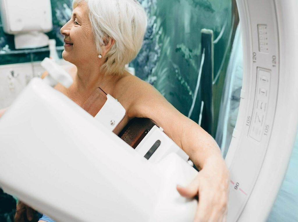 Image: Screening mammography shows no benefit in older women, according to a new study (Photo courtesy of Shutterstock).