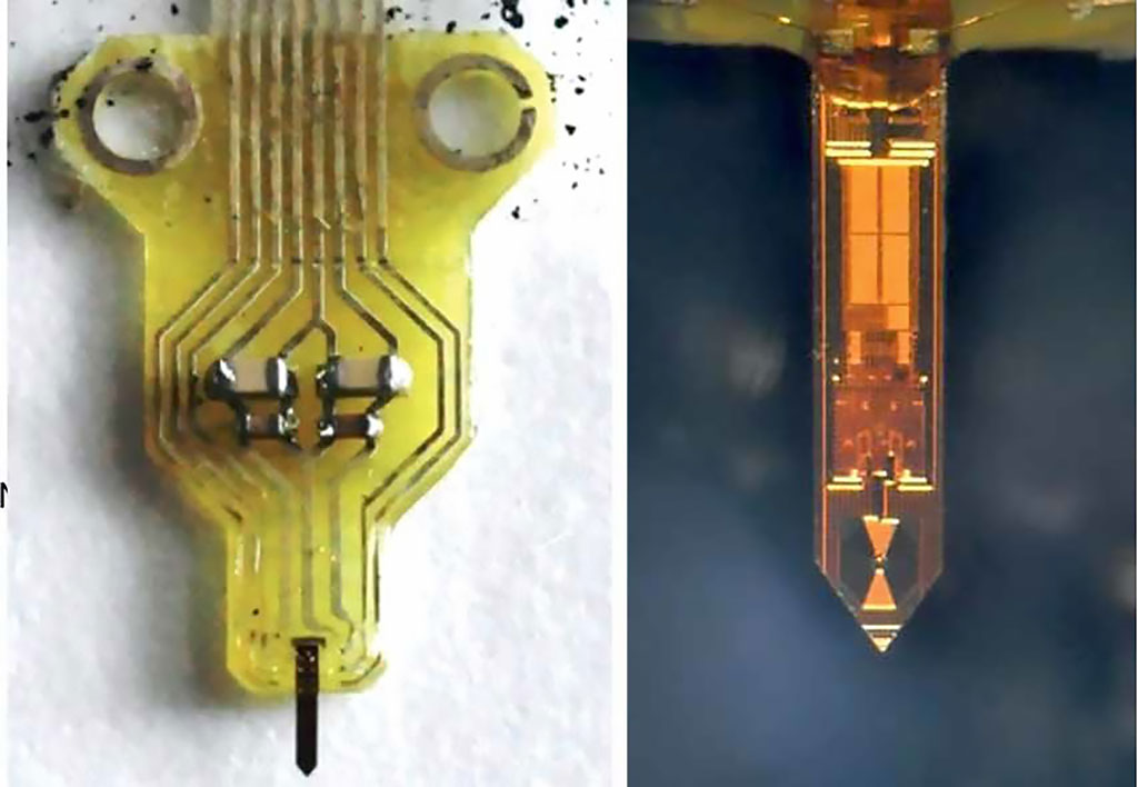 Image: The final functioning NMR probe mounted on a PCB holder (Photo courtesy of MPG)
