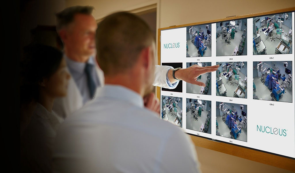 Image: The NUCLeUS platform collates video and patient content (Photo courtesy of Sony)