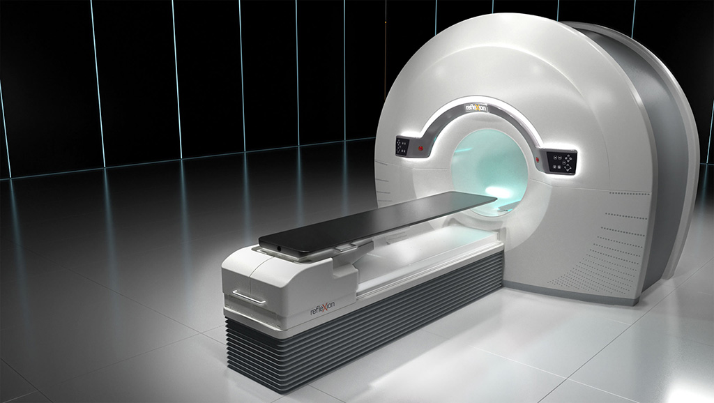 Image: The RefleXion Medical X1 machine (Photo courtesy of RefleXion Medical)