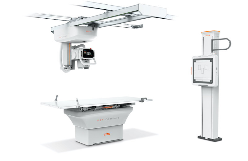 : The DRX-Compass X-ray system b(Photo courtesy of Carestream)