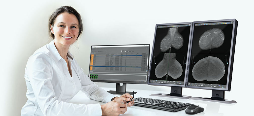 Image: The Candelis Advanced Breast Imaging Enterprises Viewer (Photo courtesy of Candelis)
