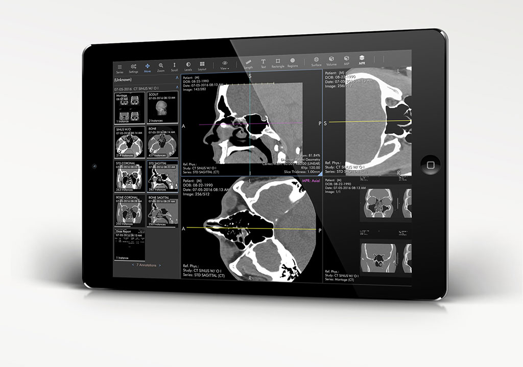 Image: The ProViewer cloud-based diagnostic image viewer (Photo courtesy of Ambra Health)