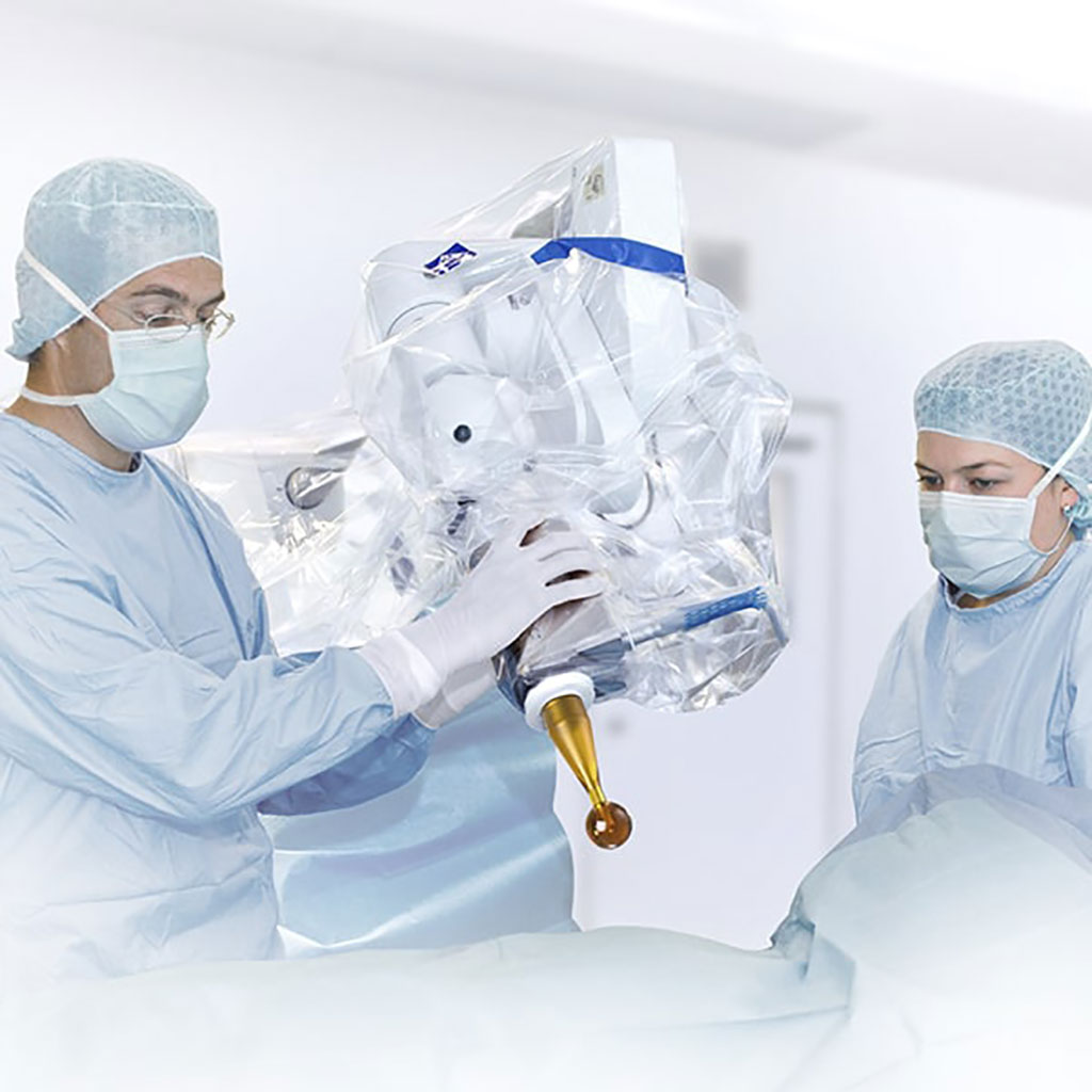 Image: The Zeiss Intrabeam 600 IORT system (Photo courtesy of Zeiss)