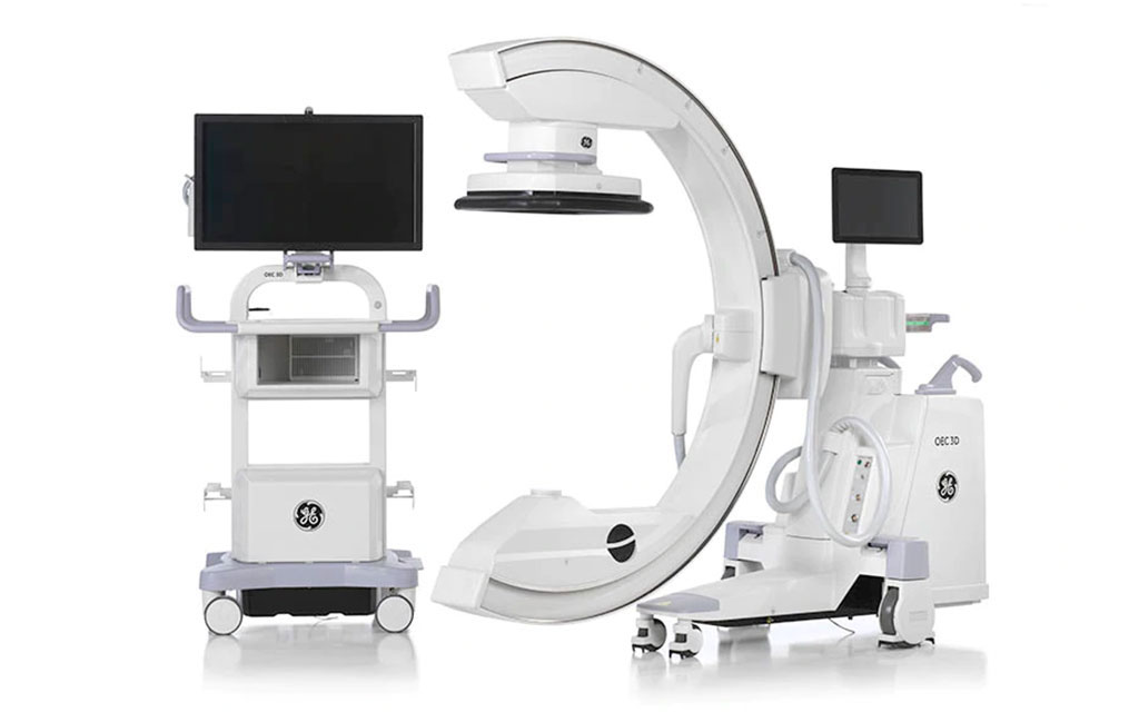 Image: The OEC 3D system with C-arm (Photo courtesy of GE Healthcare)