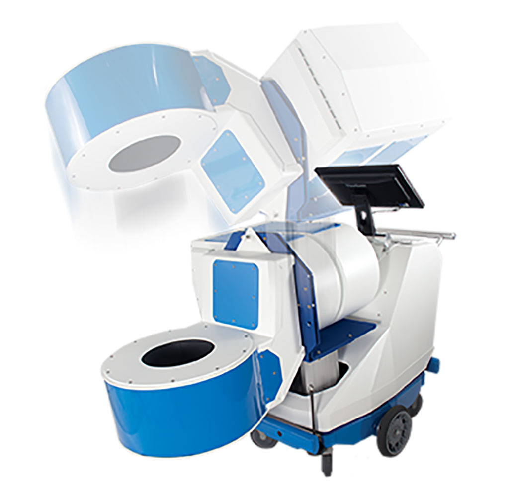 Image: BBX-PET scanner (Photo courtesy of Prescient Imaging LLC)