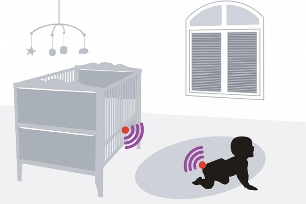Imagen: Las etiquetas RFID incrustadas en los pañales pueden alertar cuando estos se mojan (Fotografía cortesía del MIT)