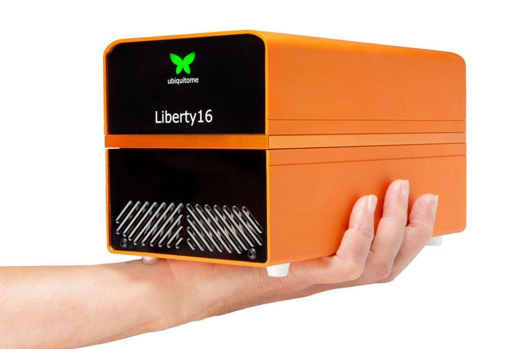 Imagen: Sistema de RT-PCR Liberty16 de Ubiquitome (Fotografía cortesía de Ubiquitome Limited)