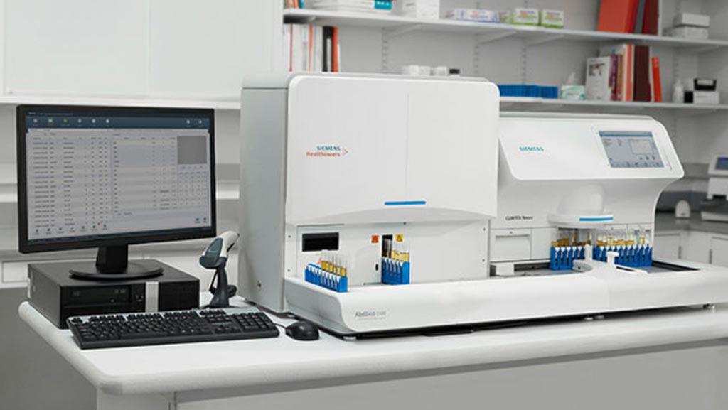 Imagen: El sistema automatizado de uroanálisis Atellica1500 (Fotografía cortesía de Siemens Healthineers).