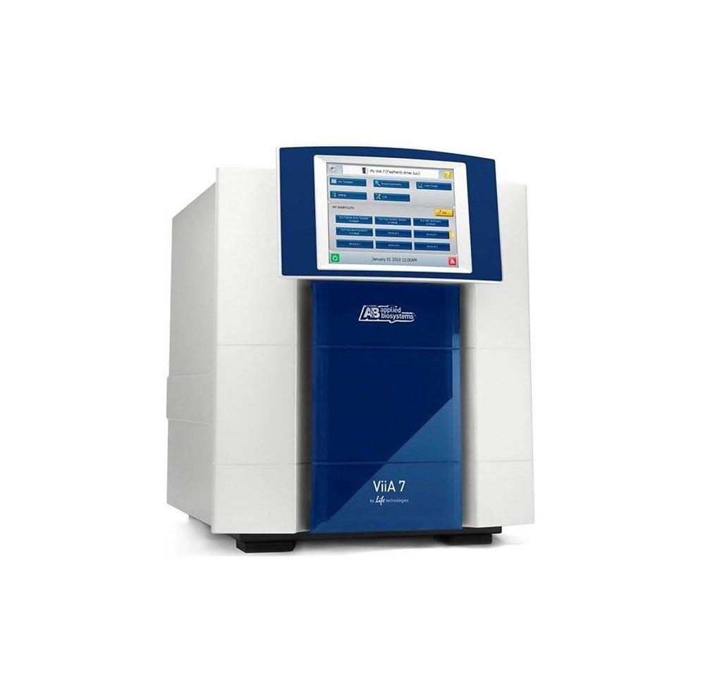 Imagen: El sistema de PCR en tiempo real, Applied Biosystems ViiA 7, combina todas las características de qPCR en un solo instrumento de alto rendimiento (Fotografía cortesía de Thermo Fisher Scientific).