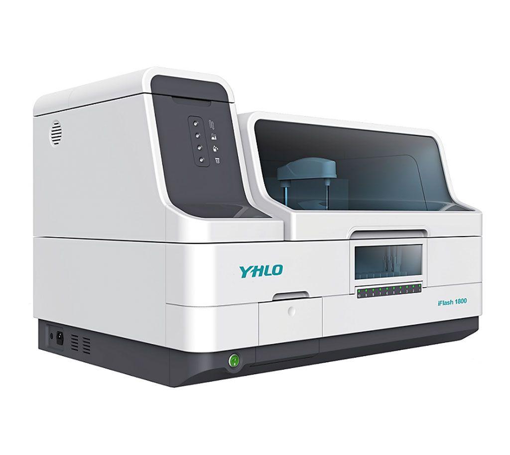 Imagen: El analizador de inmunoensayo de quimioluminiscencia iFlash 1800 (Fotografía cortesía de Shenzhen YHLO Biotech).