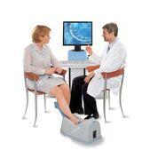 Imagen: El densitómetro óseo de ultrasonido para el calcáneo, Sonost 2000 (Fotografía cortesía de Econet).