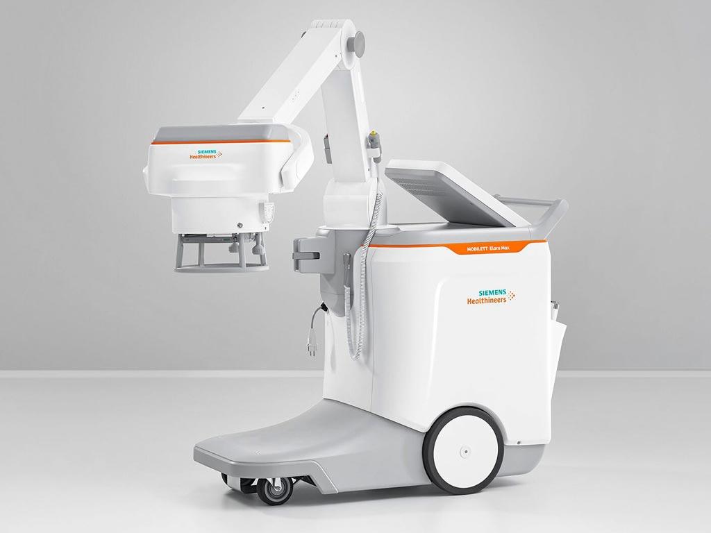 Imagen: La máquina móvil de rayos X, MOBILETT Elara Max (Fotografía cortesía de Siemens Healthineers).