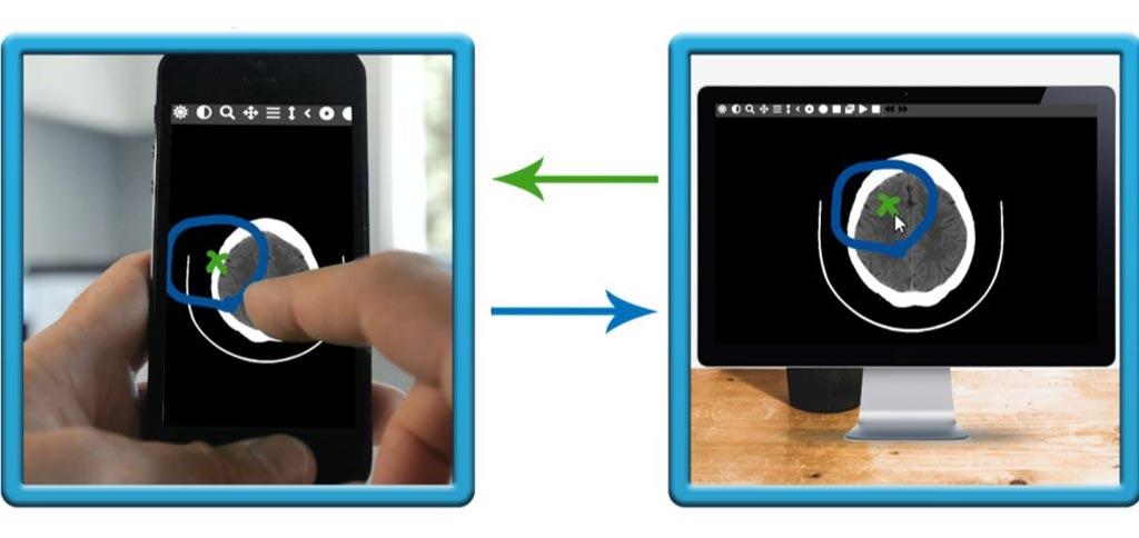 Imagen: La nueva aplicación permite a los médicos compartir información en tiempo real, sin necesidad de software adicional (Fotografía cortesía de HNC Virtual Solutions).