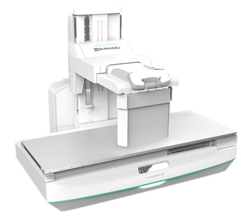 Imagen: El Shimadzu FluoroSpeed X1 (Fotografía cortesía de Shimadzu Medical Systems EUA).