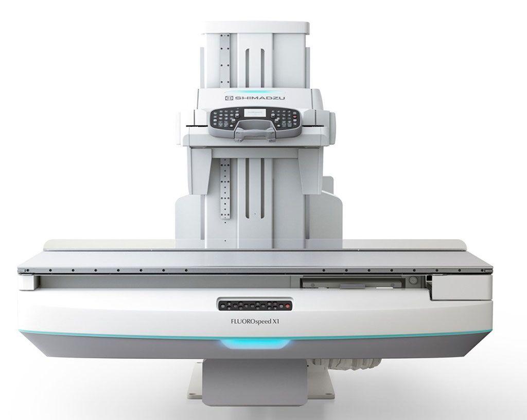 Imagen: El sistema de RF FluoroSpeed X1 edition (Fotografía cortesía de Shimadzu Medical Systems)
