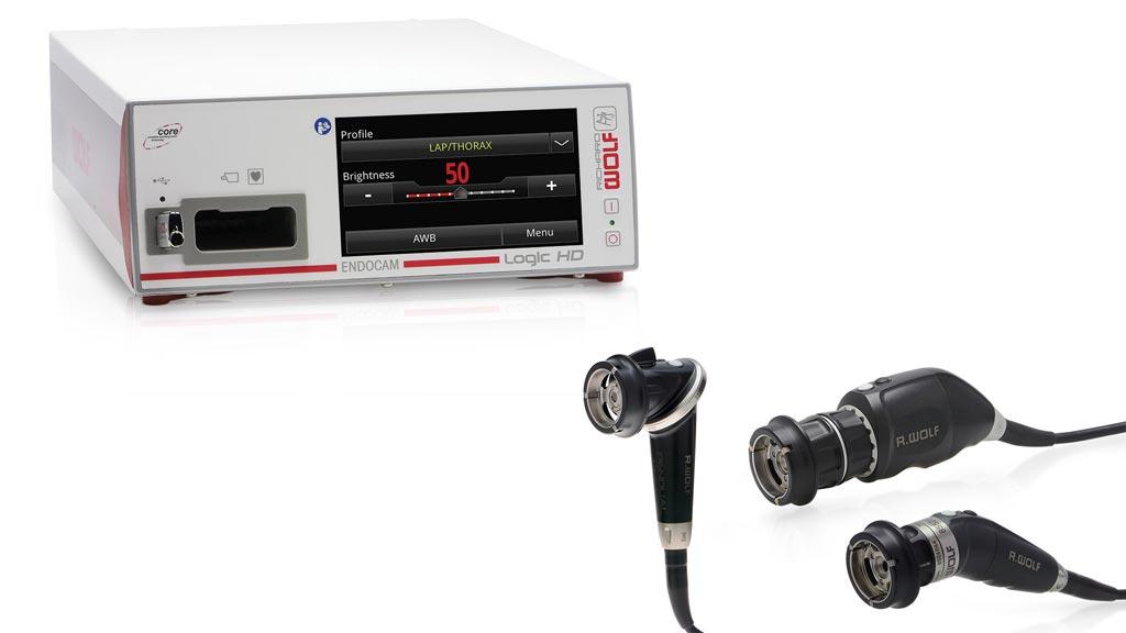 Image: The Endocam Logic 4K camera platform (Photo courtesy of Richard Wolf).
