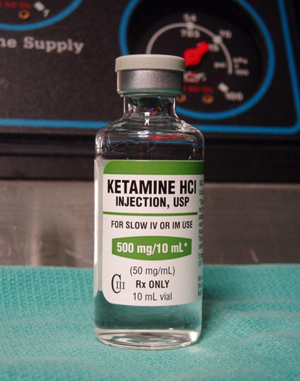 Image: According to a new study, ketamine can rapidly reduce suicidal thoughts in the depressed (Photo courtesy of Erowid).