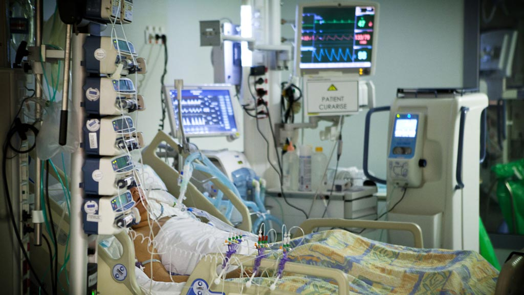Image: Many ICU alarms are irrelevant for patient care (Photo courtesy of Getty Images).
