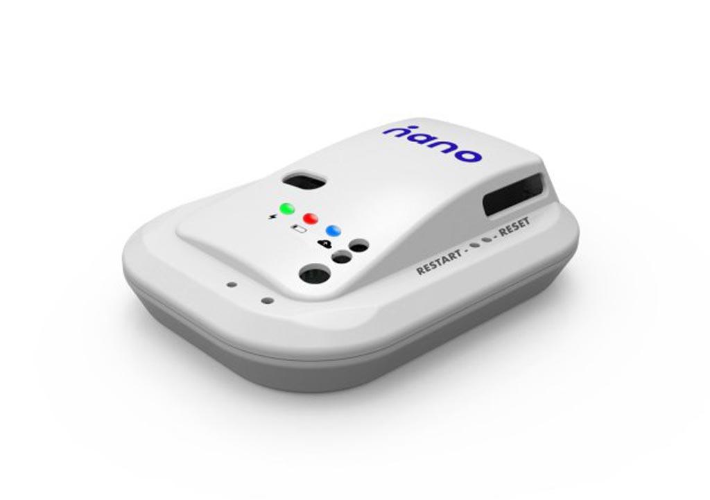 Image: The Nano Bot device environmental monitoring platform (Photo courtesy of Nano Global).